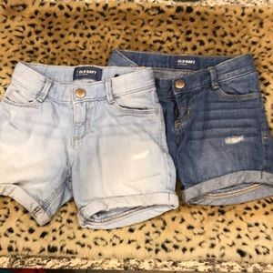 Child's Old Navy Jean Shorts